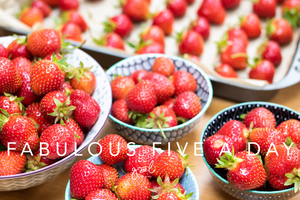 Premium Styled stock photography I Healthy Eating Photo |  Lifestyle Blog | Health | Fruit | Strawberries