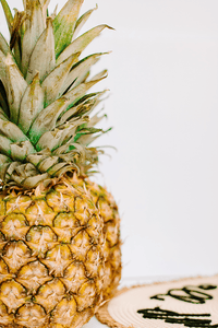 Styled stock photograpy | Summer Fruit Pineapple - Grand & Lovely Stock styled photography desktops lifestyle screens desktops stationary