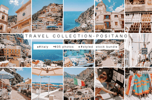 POSITANO ITALY | Travel bundle | (35 styled stock photos) - Grand & Lovely Stock styled photography desktops lifestyle screens desktops stationary
