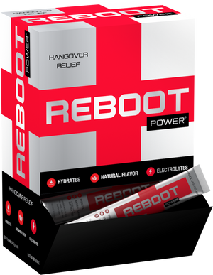Reboot Hangover Recovery - 60-pack of sticks (Just Add Water)
