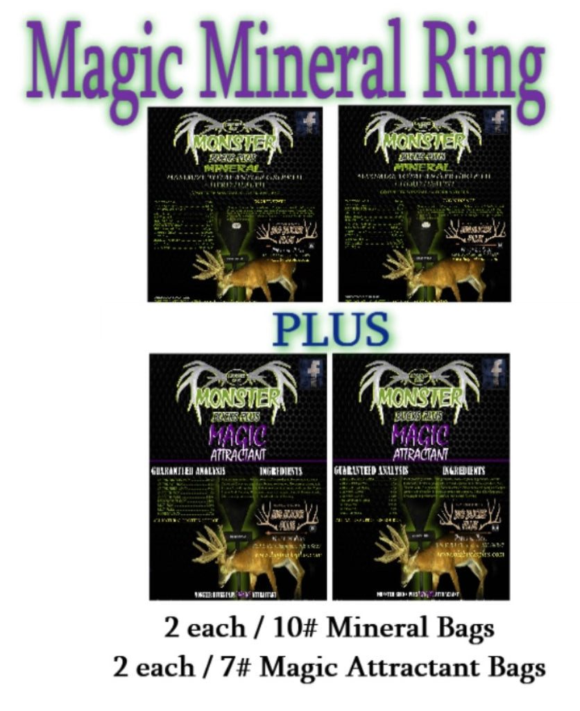 Magic Mineral Ring (4 Pack)