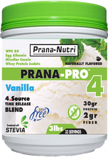 Load image into Gallery viewer, PRANA-PRO 4 Protein (3 pounds) 4 - Flavors (Peanut Butter Discontinued)