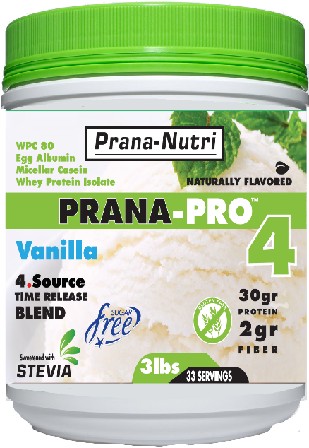 PRANA-PRO 4 Protein (3 pounds) 5 - Flavors