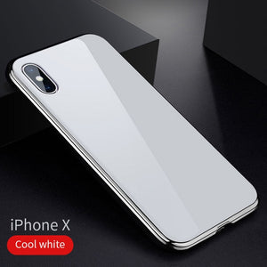 Tempered Magnetic Absorption iPhone Case