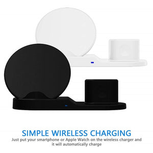 3 in 1 Quick Wireless Charging Dock