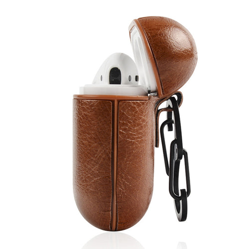 Luxury Leather AirPods Cover