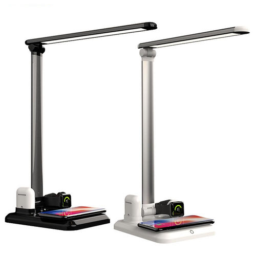 4 in 1 Table Desk Lamp Charging Station