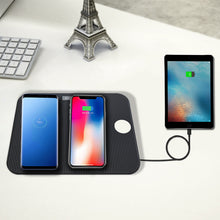 Load image into Gallery viewer, 4 in 1 Fast Wireless Charging Pad