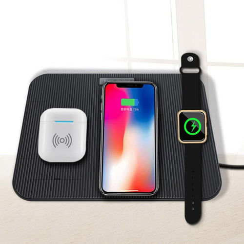 4 in 1 Fast Wireless Charging Pad