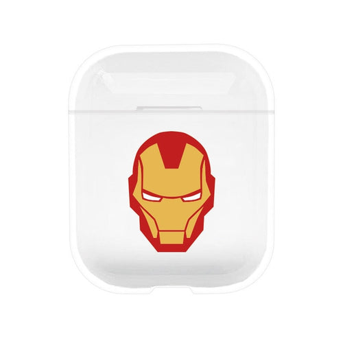 Clear Cartoon Protective AirPods Case