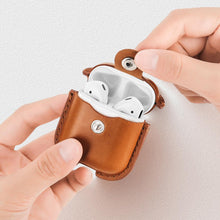 Load image into Gallery viewer, Faux Leather Apple AirPods Cover