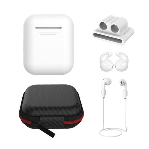 AirPods Silicone Accessories Set (5pcs)