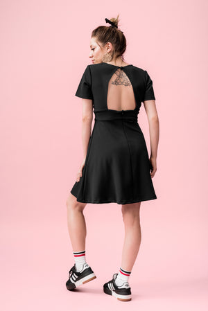 vivalafrins dress vestido black negro