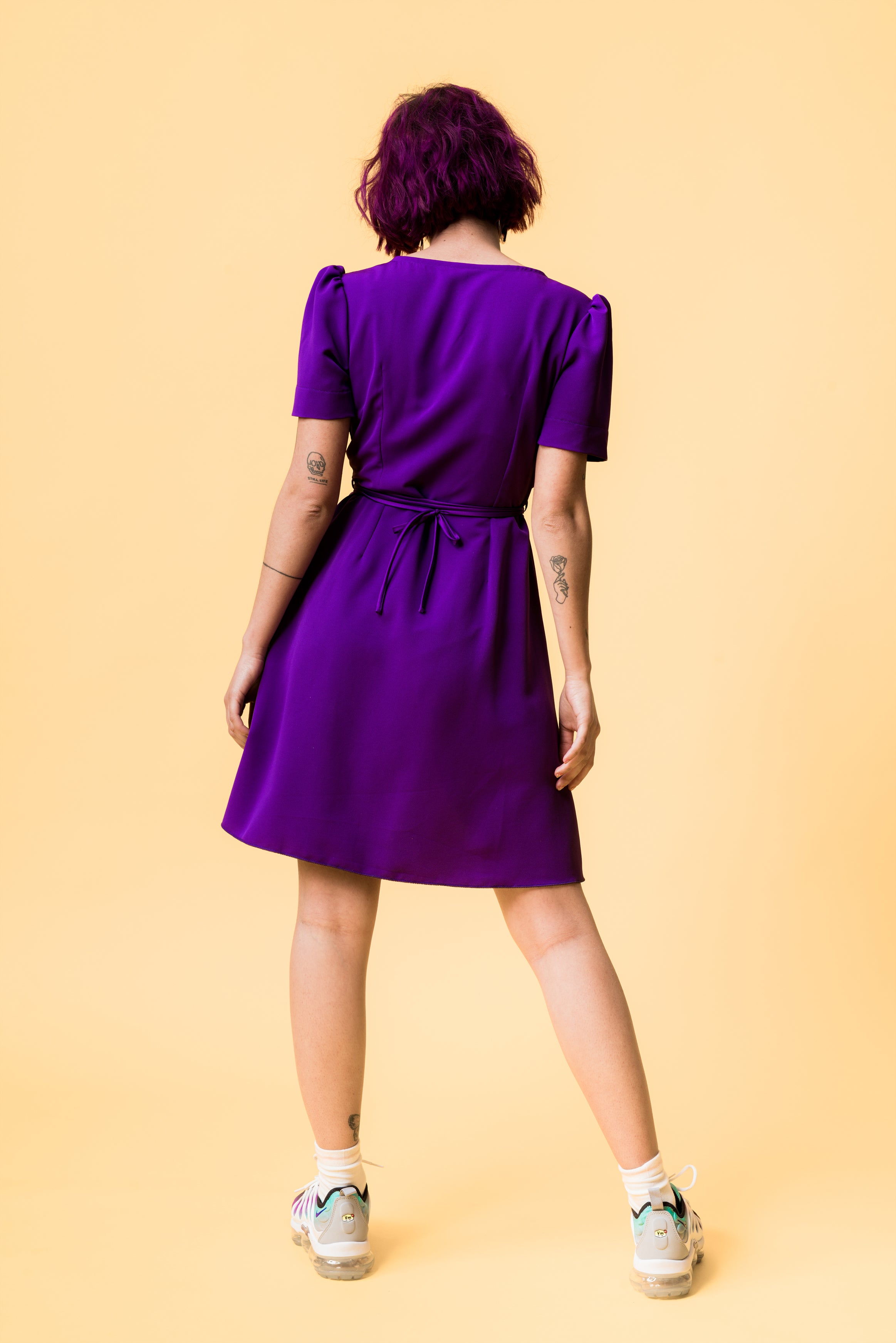 vivalafrins dress ultraviolet vestido