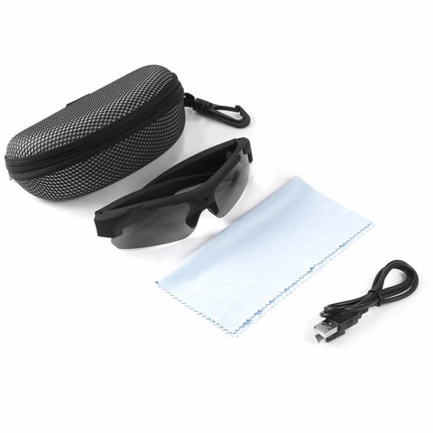 9e652b0a1453 ... Image of 1080P HD Sports Camera Sunglasses Camcorder Eyewear with Polarized  Lenses ...