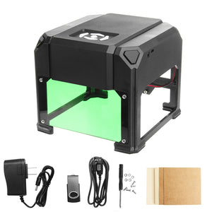 Amazing Laser Engraver Machine Mini Portable Desktop USB 2000mW 80x80mm Engraving Range DIY Logo Mark Printer Cutter CNC Laser Engraving Machine