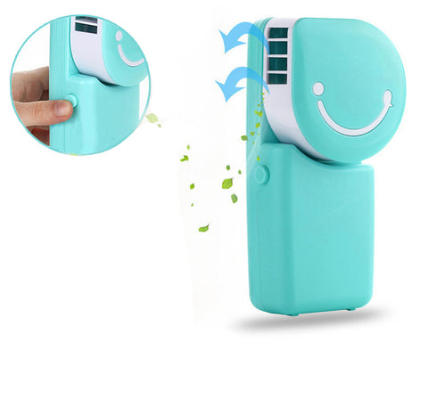Handheld Micro Cooler Fan Portable Mini Air Condition Water Cooling Fan