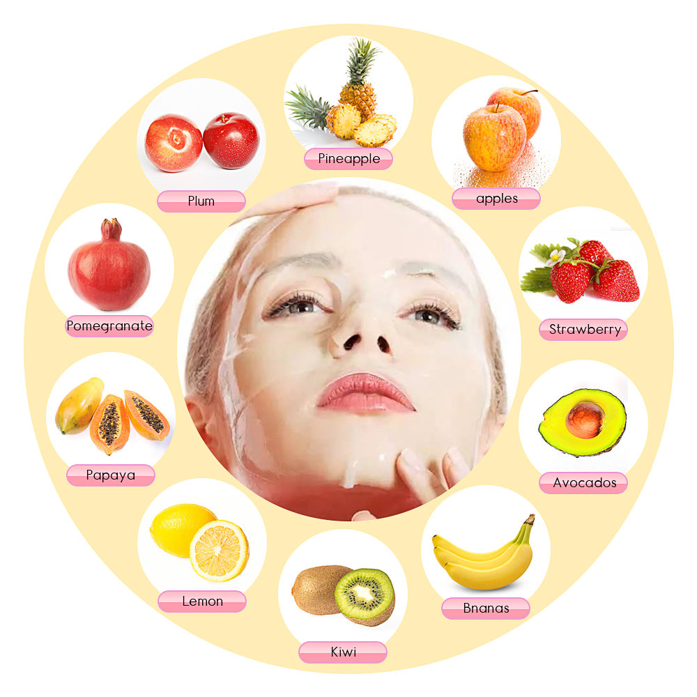 Natural Collagen Fruit Face Mask Machine - DIY Natural and Organic Facial Masks