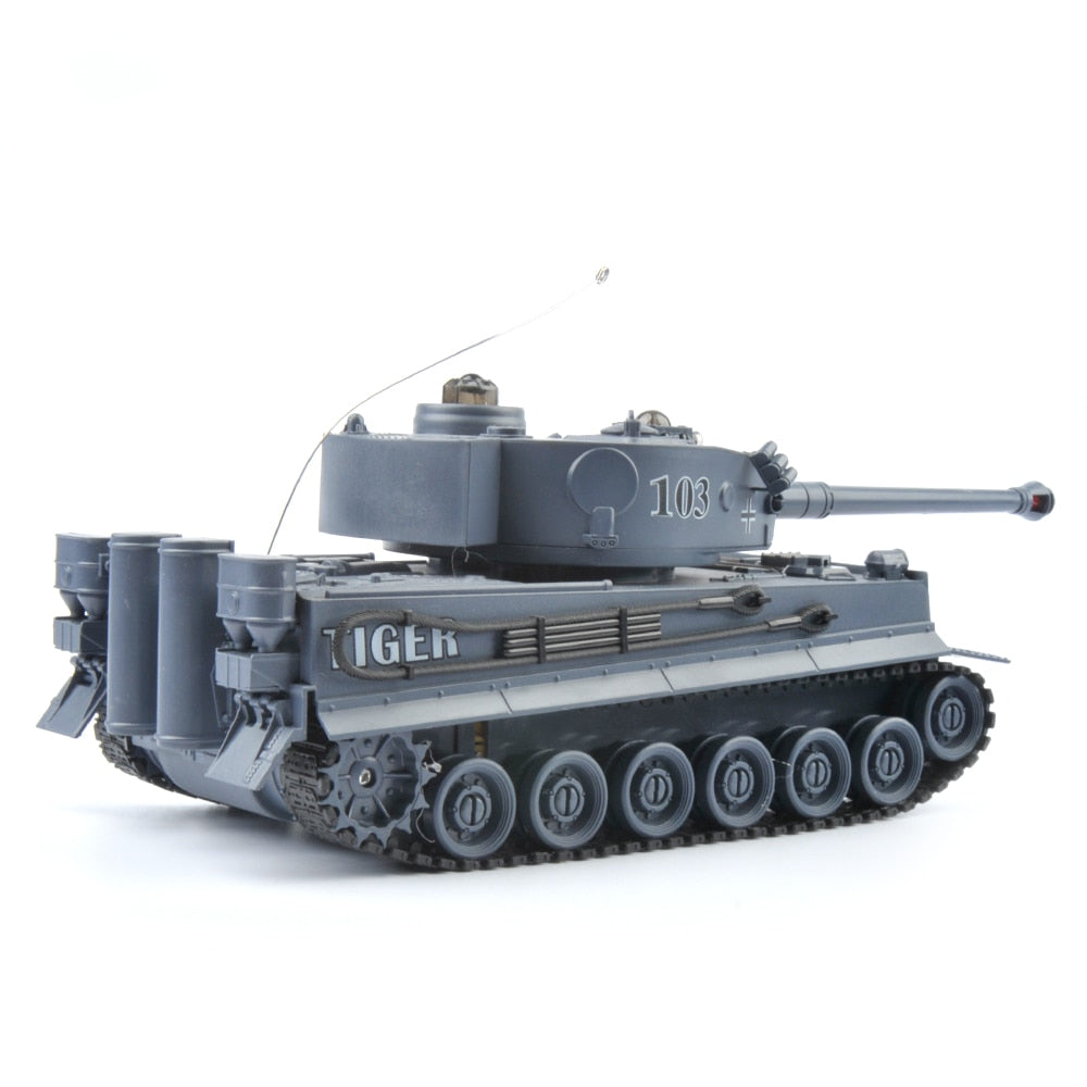 Remote Control Fighting Battle Tank RC Tank Remote Control Toys with Sound Effects and Flashing Lights for Children Kids Boys Gifts