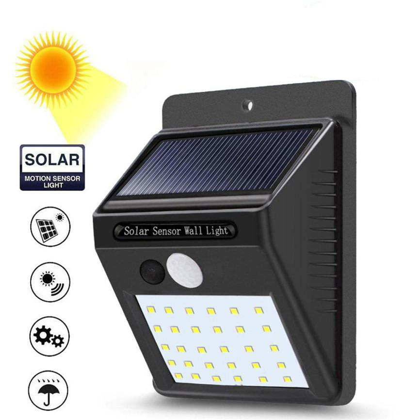 Outdoor Led Light Beauteous 60 Leds Solar Light PIR Motion Sensor Wireless LED Solar Wall Lamp