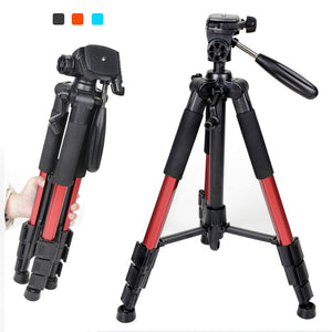 18 to 55 inch Professional Portable Camera Tripod for SLR DSLR Digital Camera with Pan Head and Carrying Case