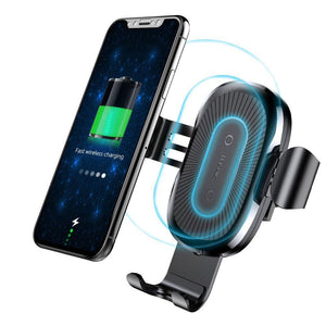 Car Wireless Charger Gravity Car Mount Holder