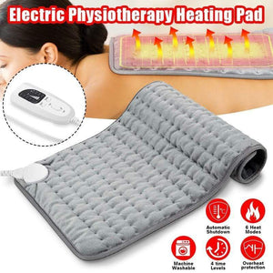 Electric Physiotherapy Heating Pad 6 Levels Electric Heating Pad with Timer
