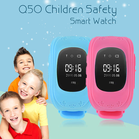 Kids Safety Smart Watch GPS Locator Tracker Anti-Lost Safe Smartwatch Child Guard for iOS Android