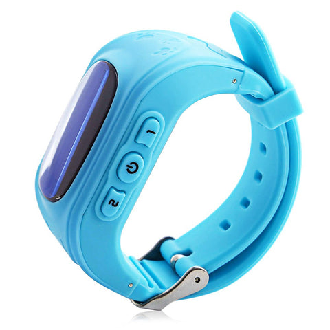 Image of Kids Safety Smart Watch GPS Locator Tracker Anti-Lost Safe Smartwatch Child Guard for iOS Android