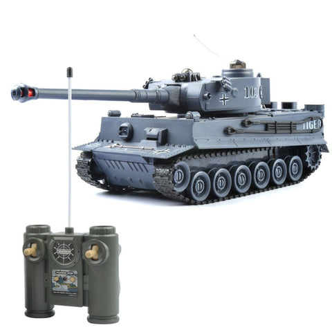 Image of Remote Control Fighting Battle Tank RC Tank Remote Control Toys with Sound Effects and Flashing Lights for Children Kids Boys Gifts