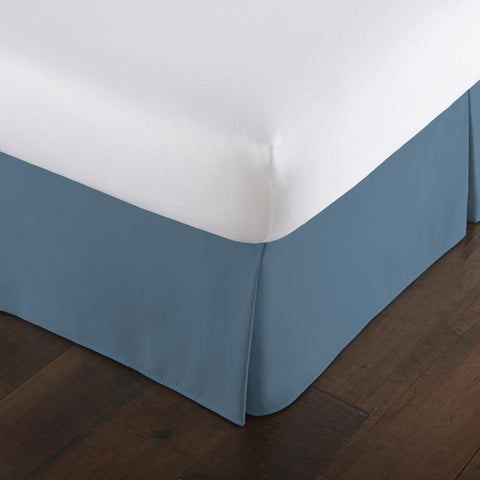 Coronet Blue Bed Skirt