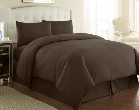 Brown Lovely Dreamer Duvet Cover Set