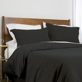 100 gsm basics_duvet cover set_black