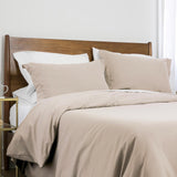 100 gsm basics_duvet cover set_bone