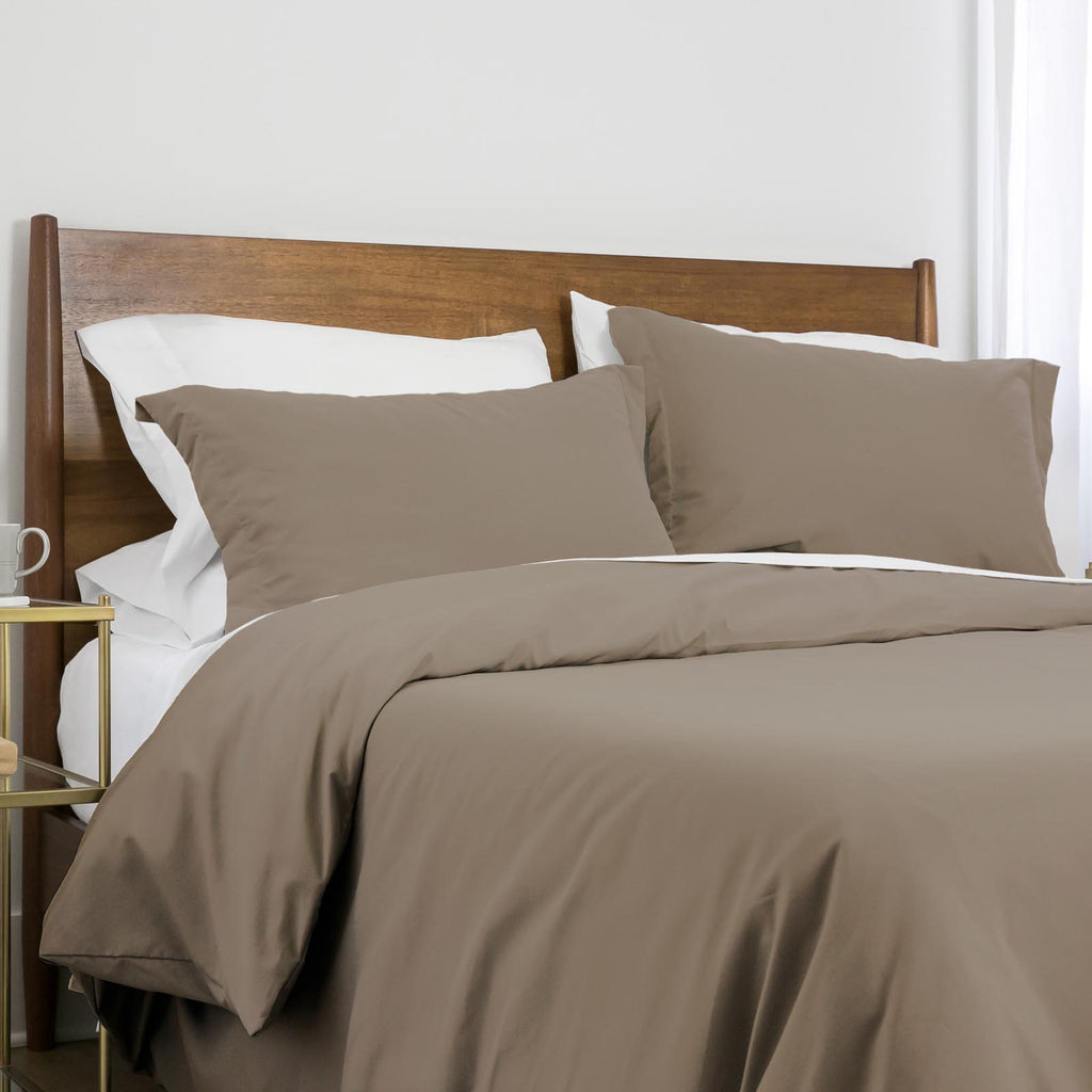 100 gsm basics_duvet cover set_dark taupe