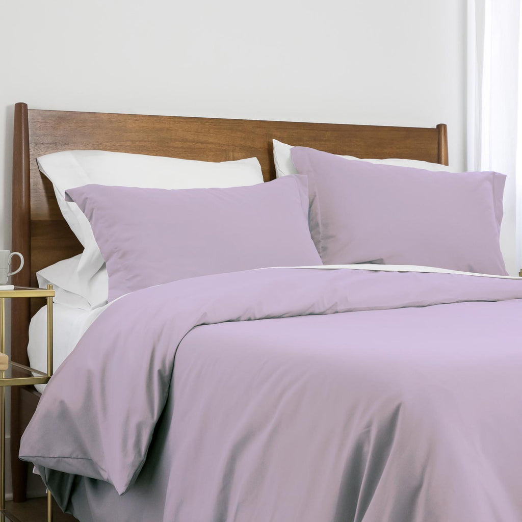 100 gsm basics_duvet cover set_lilac
