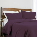 100 gsm basics_duvet cover set_purple