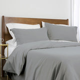 100 gsm basics_duvet cover set_steel grey