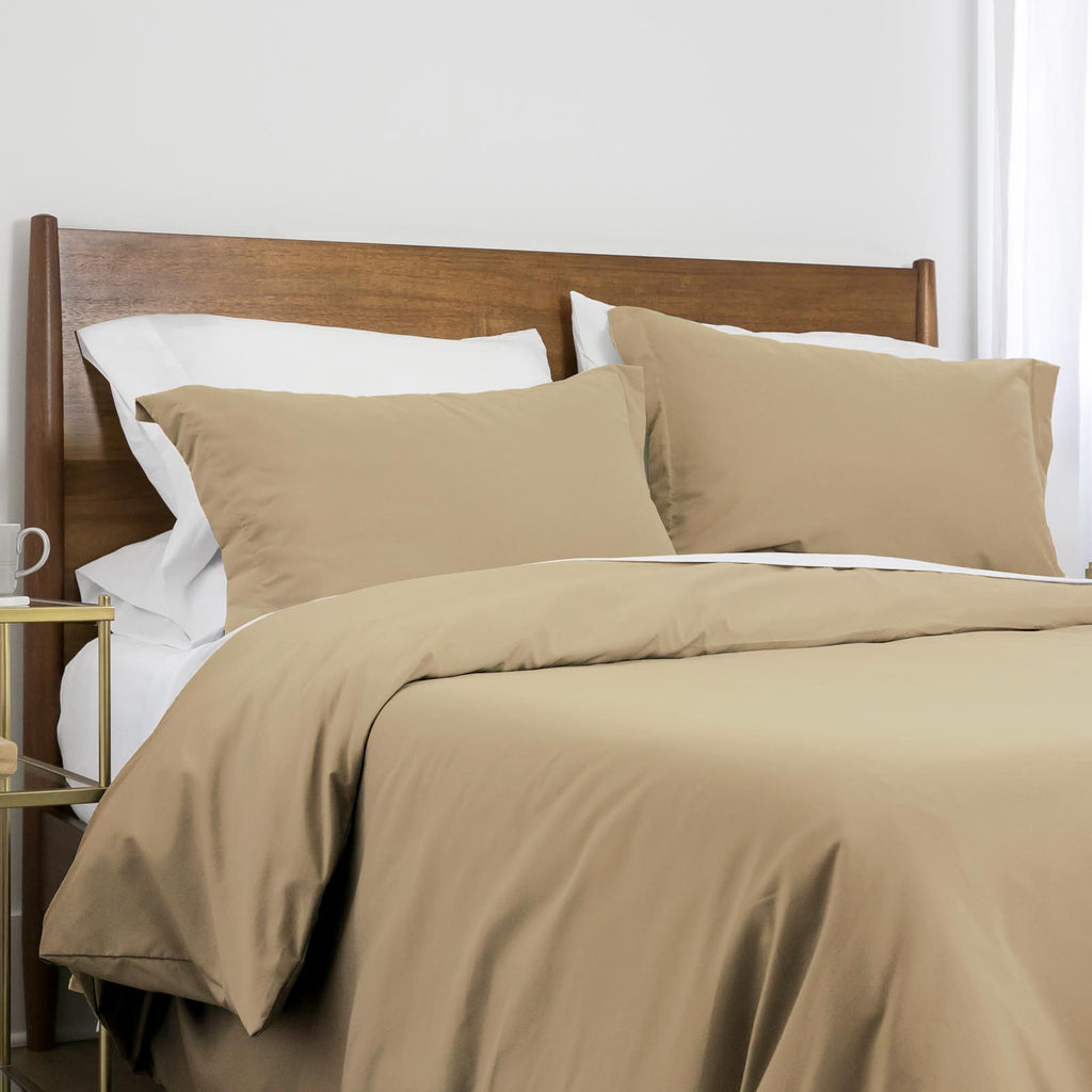 100 gsm basics_duvet cover set_warm sand