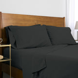 Classic 100 GSM Microfiber_Sheet Set_black