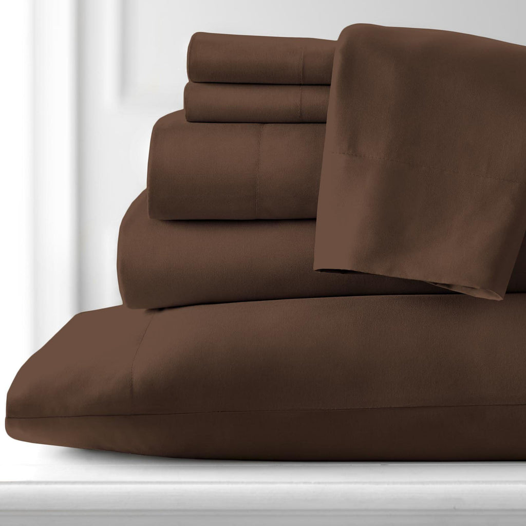 Classic 100 GSM Microfiber_Sheet Set_brown