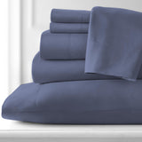 Classic 100 GSM Microfiber_Sheet Set_denim