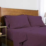 Classic 100 GSM Microfiber_Sheet Set_purple