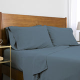 Classic 100 GSM Microfiber_Sheet Set_steel blue