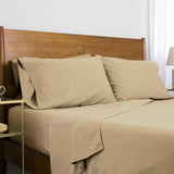 Classic 100 GSM Microfiber_Sheet Set_warm sand