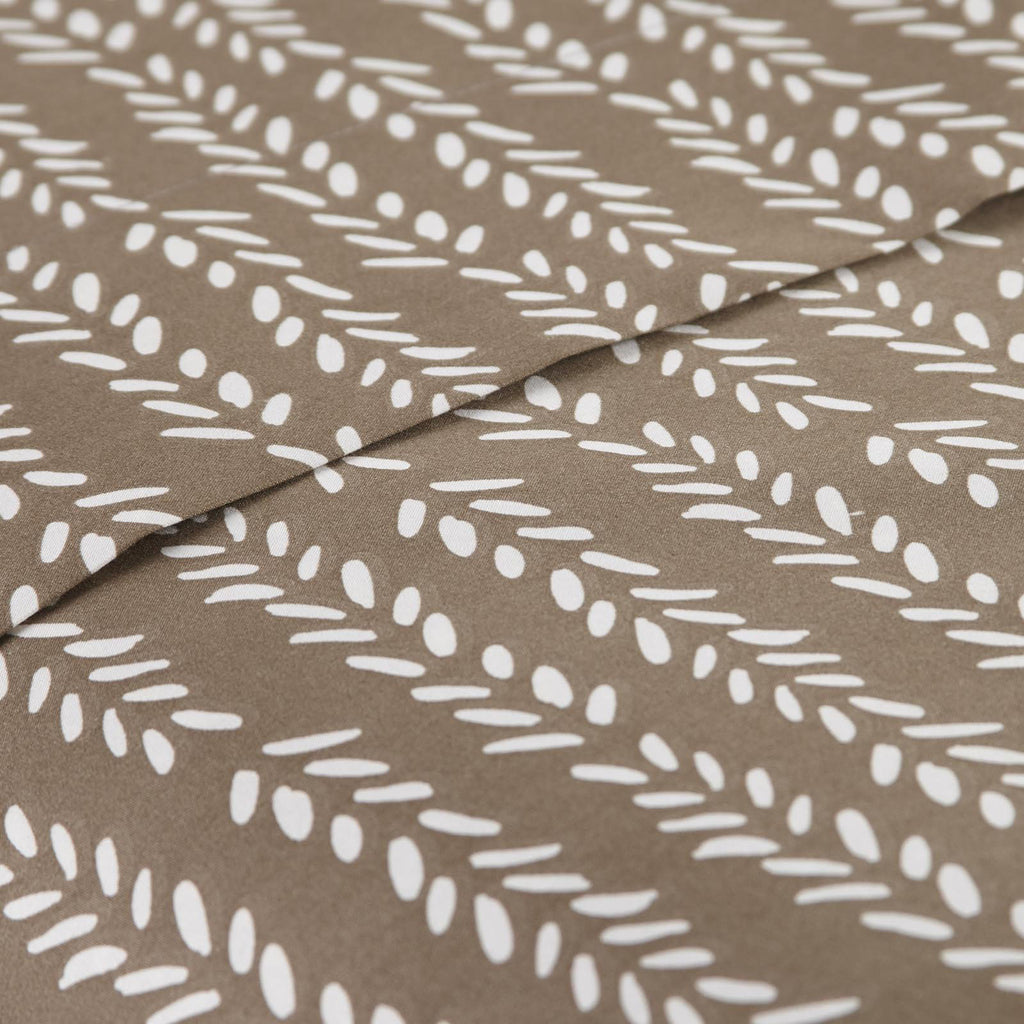 Vineyard Sunset_sheet set_brown