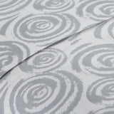 Radiant Rosebud_ sheet set_grey
