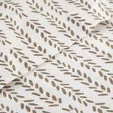 Vineyard Sunset_sheet set_White and brown
