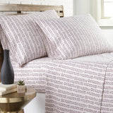 Vineyard Sunset_sheet set_White and mauve
