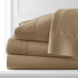 Soft Earth Tones_Pleated Sheet Sets_taupe